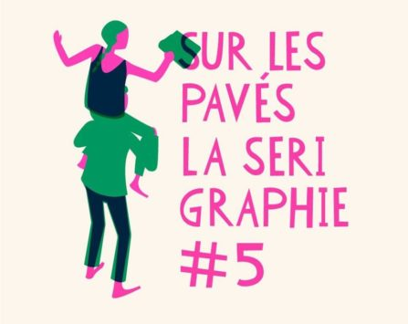 Image programmation Sur les pavés la sérigraphie #5