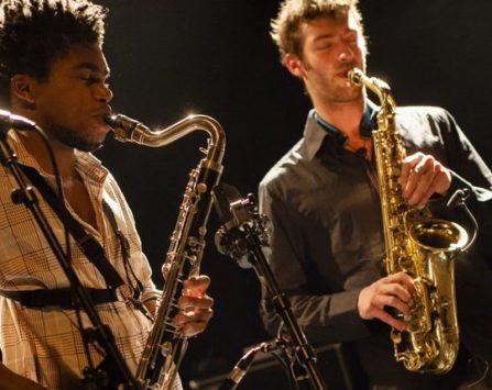 Image programmation NoSax NoClar + Laurent Dehors Trio > annulé & reporté