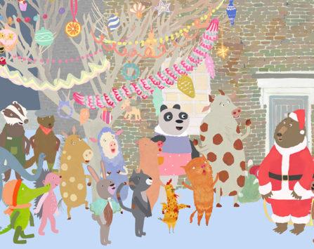 Image programmation Cin'espiègle Pirouette et le sapin de Noël