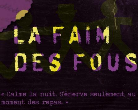 Image programmation Ciné-débat La Faim des fous > ANNULÉ
